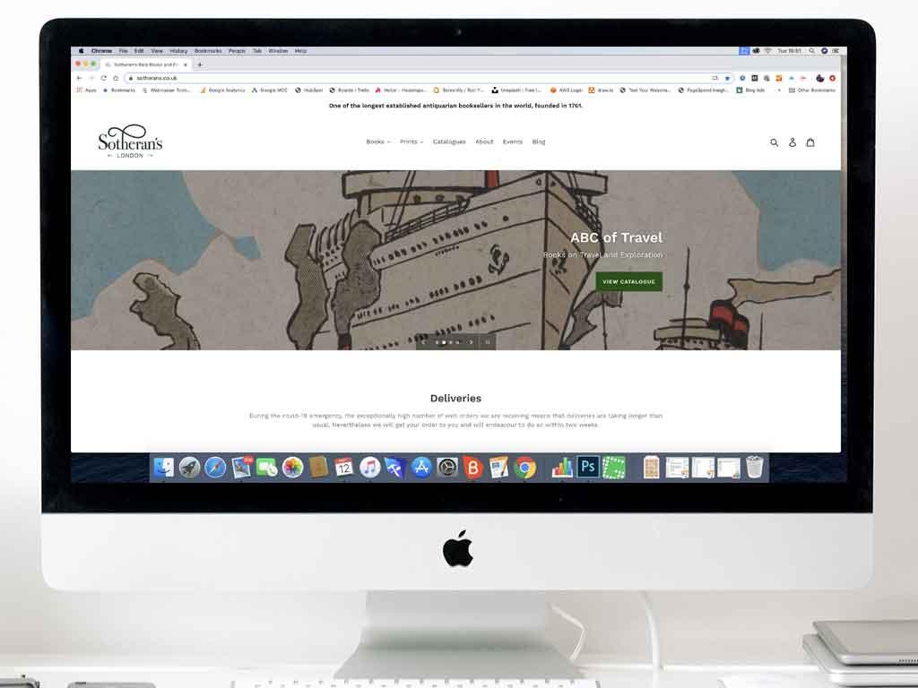 Brandwaves e-commerce clients - Sotherans