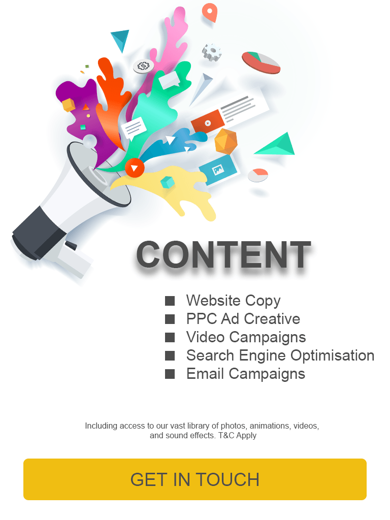 Content Marketing Bundles. Get in touch to find out more